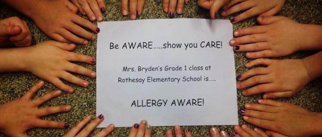 Food Allergy Awareness week is May 8 – 14, 2016